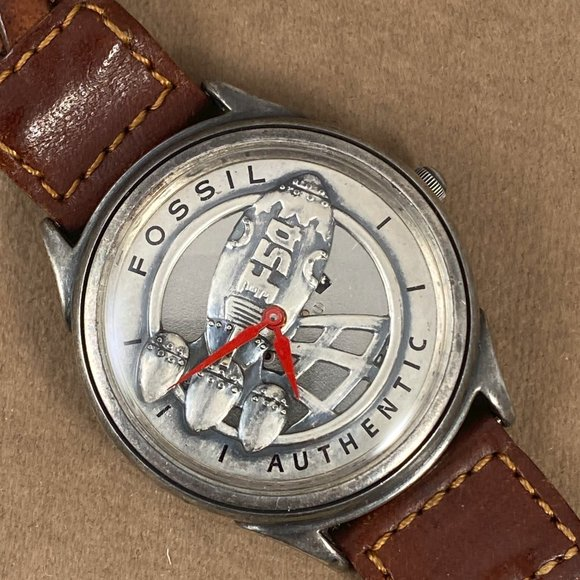 Fossil Other - Vintage Captain Fossil Rocket Man Watch
